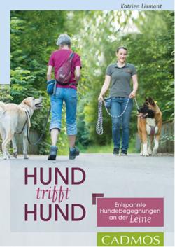Hund trifft Hund: Entspannte Hundebegegnungen an der Leine, Buch von Katrien Lismont - Easy Dogs